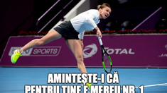 Mesaj superb al Ambasadei Suediei pentru Simona Halep, înaintea finalei cu Elise Mertens, la Doha