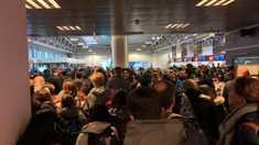 Incendiu pe un aeroport din Roma. Toți pasagerii au fost evacuați