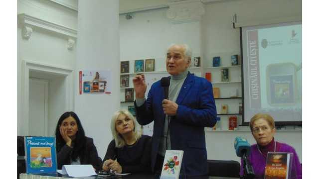 """Programul """"Chișinăul citește"""" a fost lansat, fiind incluse trei cărți noi"""