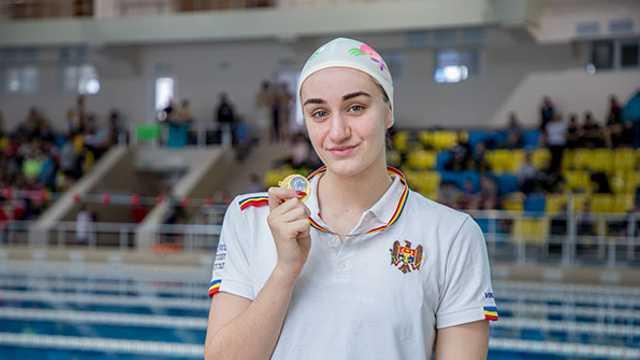 Tatiana Salcuțan nu a avut concurență la stilul spate