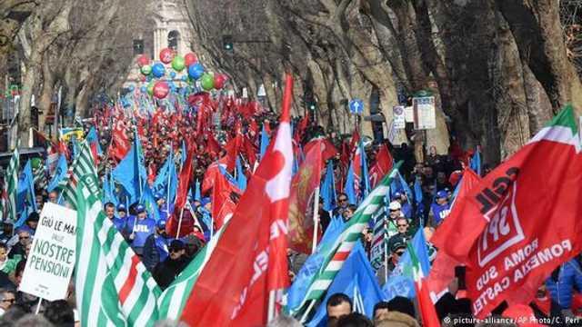 Italia | Sute de mii de persoane au protestat, la Roma, la adresa Guvernului