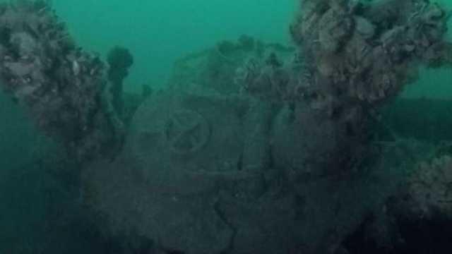 """Descoperire istorică în Marea Neagră: submarin din """"flota pierdută a lui Hitler"""""""