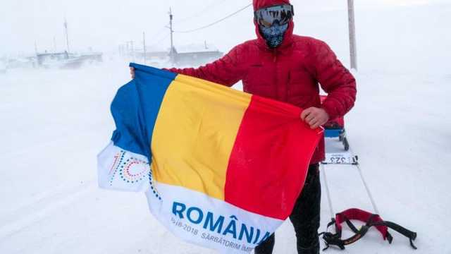 """Ultramaratonistul Tibi Ușeriu a fost obligat să abandoneze ultramaratonul """"Yukon Arctic"""" și vine cu un mesaj"""