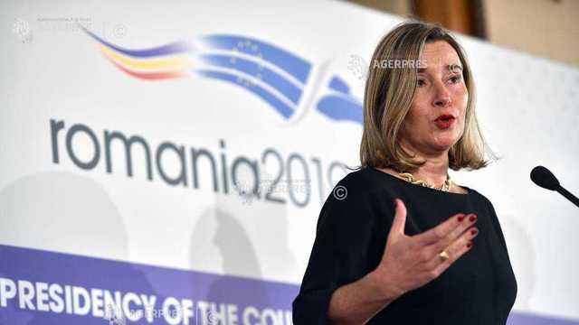 Federica Mogherini: UE acordă o importanţă absolută organizării de alegeri libere, corecte şi transparente în R.Moldova