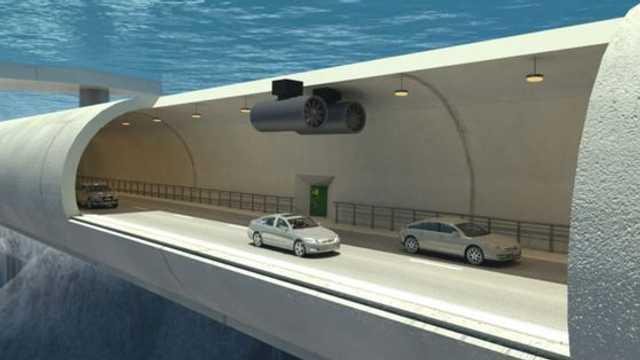 VIDEO | Prima AUTOSTRADĂ SUBACVATICĂ din lume, construită în Norvegia, până în 2035. Trece printr-un tunel plutitor şi unul sub nivelul mării