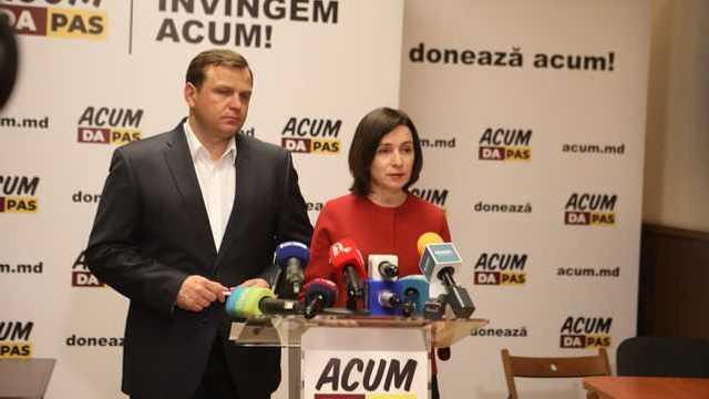 Blocul ACUM nu recunoaște alegerile ca fiind libere și corecte
