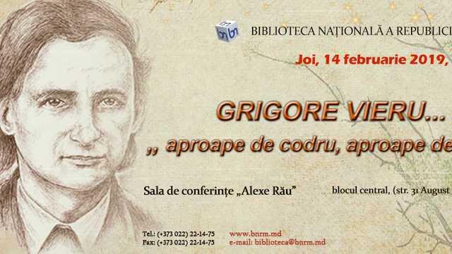 """Grigore Vieru - """"Aproape de codru, aproape de stele"""""""