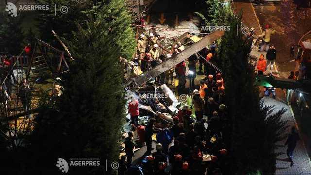 Turcia   Patru morţi ca urmare a prăbuşirii unui elicopter militar la Istanbul
