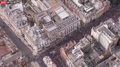 VIDEO | Miting de proporţii la Londra, cu 6 zile înainte de BREXIT. Criza a scos în stradă mii dе oameni în Marea Britanie
