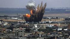 Israelul lovește Fâșia Gaza ca represalii la tirurile de rachete