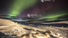 Aurora boreală ar putea fi vizibilă în weekend în Marea Britanie