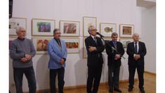 O expoziție internațională de gravură a fost vernisată la un muzeu din Chișinău
