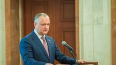 Igor Dodon a anunțat când va fi convocată prima ședință a Parlamentului