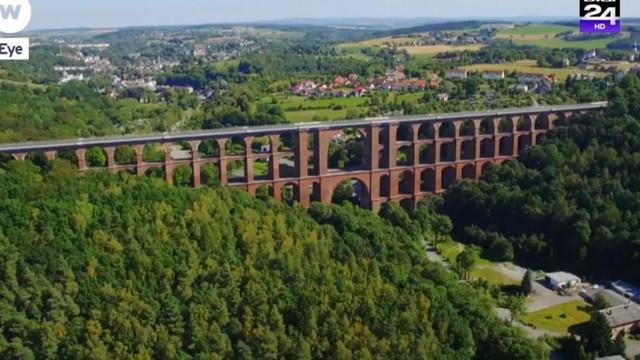 VIDEO | Cum arată cel mai mare pod de cărămidă din lume
