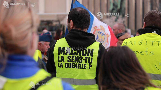 Proteste în Franța. Avertizare de călătorie