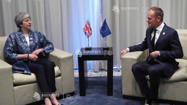 Theresa May a cerut formal amânarea Brexit până pe 30 iunie