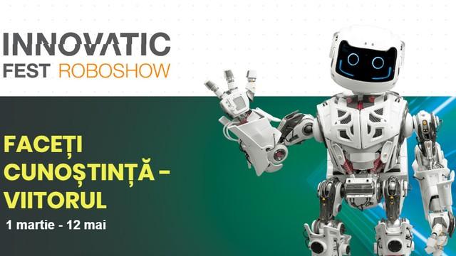 Innovatic Fest Roboshow | Roboți care dansează,  recită poezii, servesc cafea și oglinzi interactive, la Chișinău
