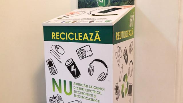 În Chișinău vor apărea tomberoane metalice pentru colectarea e-deșeurilor mari