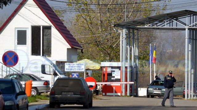 Moldovean prins după ce a trecut ilegal frontiera cu România