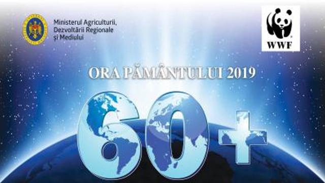 """Cea mai mare acțiune de mediu """"Ora Pământului"""", marcată la Chișinău"""