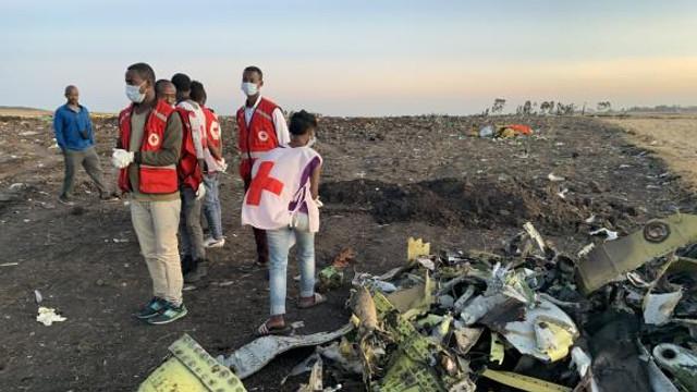 Echipajul avionului căzut în Etiopia nu ar fi fost pregătit să piloteze un Boeing 737 MAX