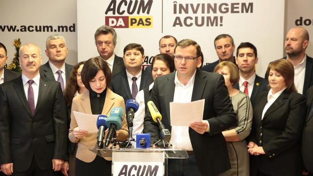 Anunțul Blocului ACUM privind consultările comune cu Igor Dodon