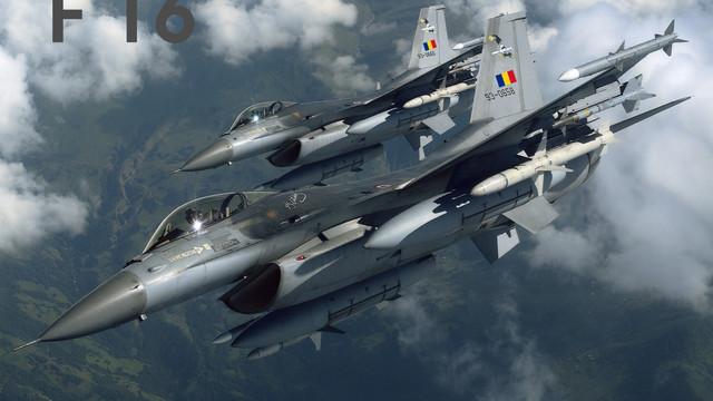România va cumpăra 36 de avioane F-16, care să înlocuiască MIG-urile învechite