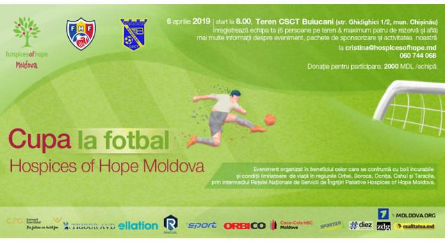 Amatorii de fotbal sunt invitați la un eveniment sportiv caritabil