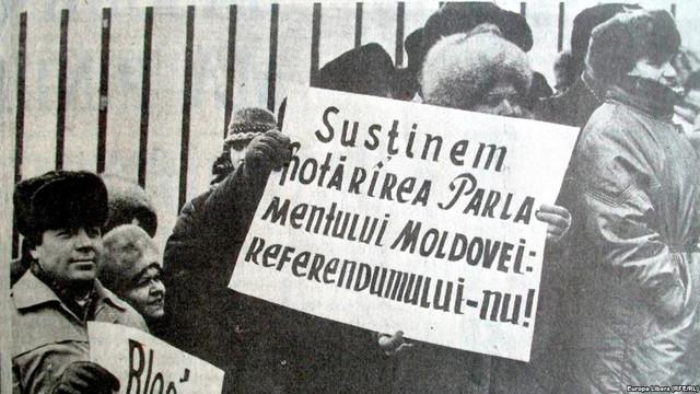 DOCUMENTAR | 28 de ani de la referendumul pentru menținerea URSS, care a provocat ciocniri în Moldova