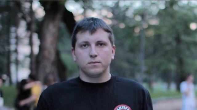 Pavel Grigorciuc a fost reținut de poliție pentru huliganism