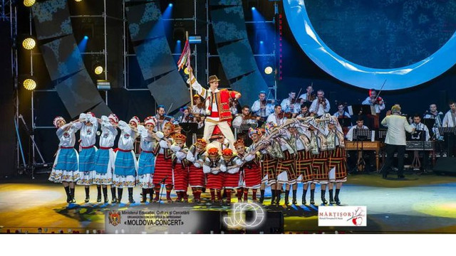 """Festivalul """"Mărțișor"""" s-a încheiat cu un spectacol al Ansamblului """"Joc"""""""