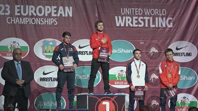 Luptătorul Artium Deleanu a cucerit bronzul la Europenele U-23