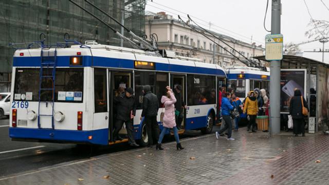 O nouă rută de troleibuz cu propulsie autonomă va circula de luni spre comuna Bubuieci