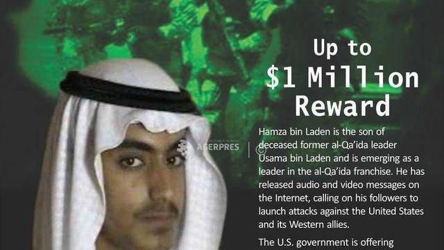 Arabia Saudită l-a lipsit de cetăţenie pe fiul lui Osama bin Laden, Hamza