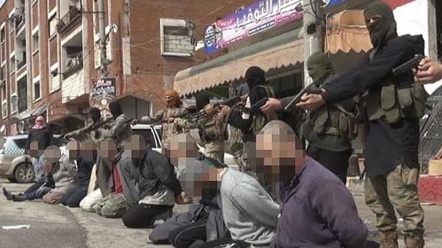 Luptători Stat Islamic, executaţi de o grupare jihadistă rivală, în Siria