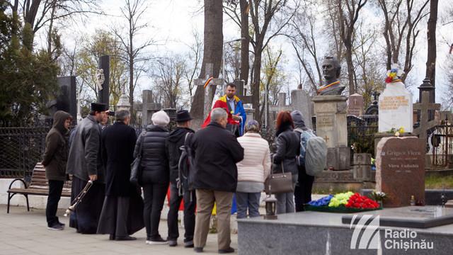 FOTO | Deputații din Sfatul Țării au fost comemorați la Chișinău