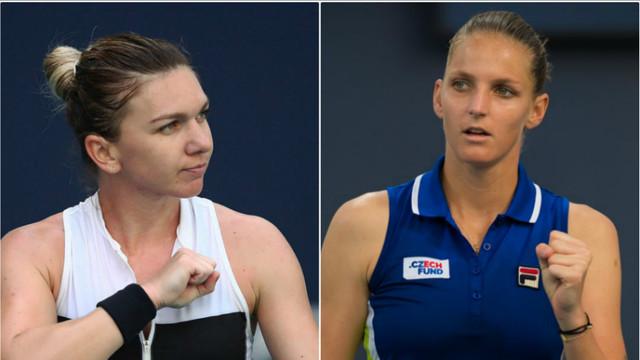 Simona Halep, învinsă de Karolina Pliskova. Calificarea în finală i-ar fi fost suficientă pentru  revenirea pe primul loc în lume