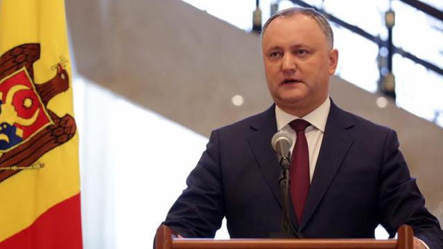 """Igor Dodon invită oficial pe Zinaida Grecianîi, Vlad Plahotniuc,  Maia Sandu și Andrei Năstase: """"Trebuie să avem o discuție serioasă"""""""