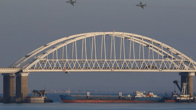 SUA sporesc sancțiunile împotriva Rusiei, în legătură cu incidentele din strâmtoarea Kerci