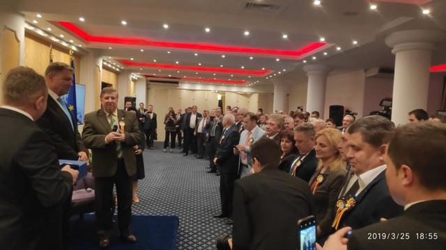 """Klaus Iohannis, la întâlnirea cu aleșii locali de pe ambele maluri ale Prutului: """"R.Moldova rămâne a fi o preocupare a mea"""""""