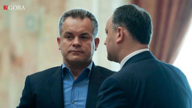 Plahotniuc, Candu și Filip, la discuții cu Dodon privind formarea unei majorități parlamentare