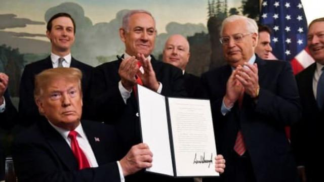 """Moscova: Recunoaşterea suveranității israeliene asupra Înălţimilor Golan va avea """"consecinţe negative"""" asupra conflictului din Siria"""