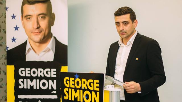 George Simion se lansează la Chișinău în campania pentru europarlamentare
