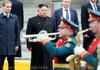 Liderul nord-coreean a sosit la Vladivostok, unde se va întâlni cu preşedintele rus Vladimir Putin