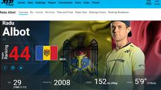 Tenis | Radu Albot, calificat în optimi la Budapesta (ATP)