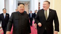 """Coreea de Nord cere Statelor Unite să îl înlocuiască pe Mike Pompeo cu un negociator """"mai atent şi mai matur"""