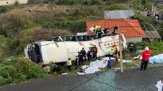 Portugalia a decretat trei zile de doliu național după accidentul de pe insula Madeira