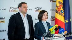 PSRM nu s-au prezentat la întrevederea cu Blocul ACUM. Alegerea lui Andrei Năstase în funcția de președinte al Parlamentului era pe lista de discuții