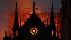 Cauza incendiului de la Notre-Dame. Declarația unui oficial al poliției