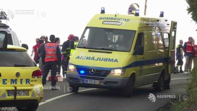 Portugalia: 28 de turiști germani și-au pierdut viața într-un accident rutier pe insula Madeira